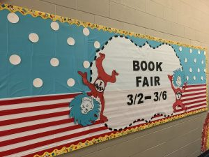 book fair bulletin board
